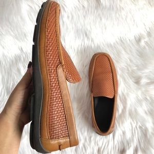 TOMMY BAHAMAS Men All Over Woven Leather Shoes 13D